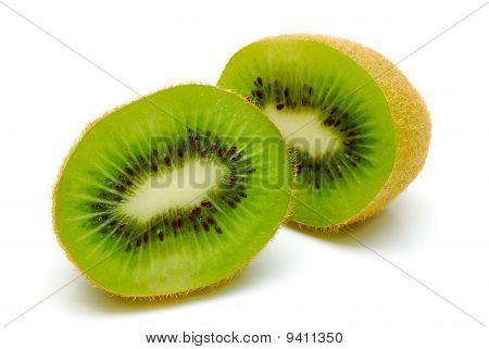 Kiwi Fruit Cut In Half
