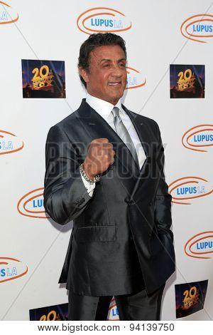 LOS ANGELES - JUN 6:  Sylvester Stallone at the Lupus LA Orange Ball  at the Fox Studios on June 6, 2015 in Century City, CA