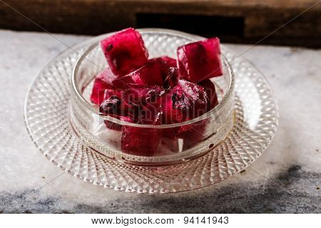 Frozen Hibiscus Tea