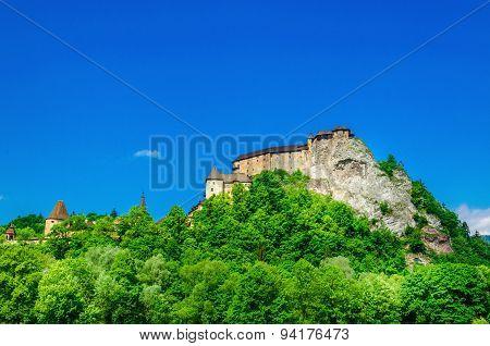 Oravsky Hrad Castle, Slovakia