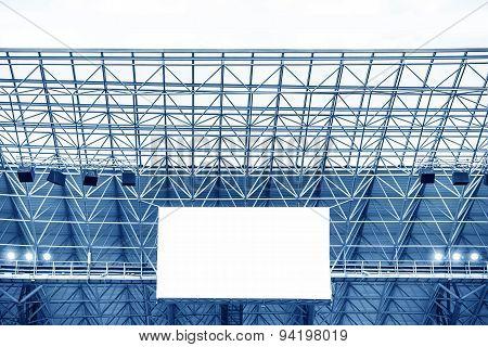Electronic display at stadium