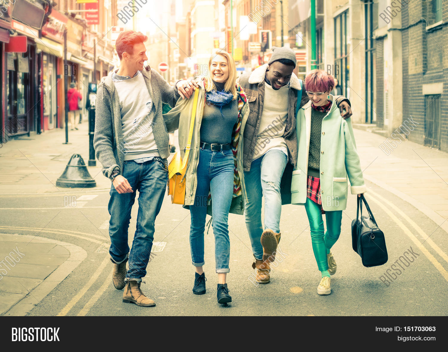 happy multiracial image photo free trial bigstock
