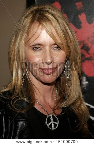 Rosanna Arquette at the Los Angeles premiere of 'The Tripper' held at the Mann's Chinese 6 in Hollywood, USA on October 13, 2006.