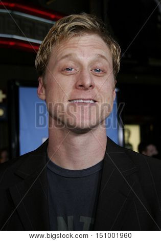 Alan Tudyk at the World premiere of 'Ice Age 2: The Meltdown' held at the Grauman's Chinese Theater in Hollywood, USA on March 19, 2006.