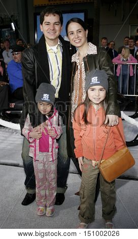 Carlos Saldanha at the World premiere of 'Ice Age 2: The Meltdown' held at the Grauman's Chinese Theater in Hollywood, USA on March 19, 2006.