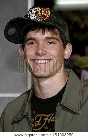 Stephan Bender at the World premiere of 'The Shaggy Dog' held at the El Capitan Theatre in Hollywood, USA on March 7, 2006.