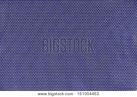 corrugated texture of rough fabric of violet color with an interlacing of threads for a woven background and for wallpaper