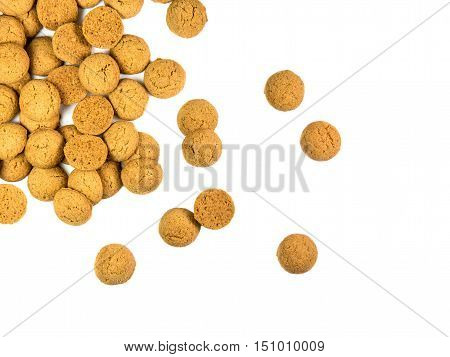 Scattered Bunch Of Pepernoten Cookies