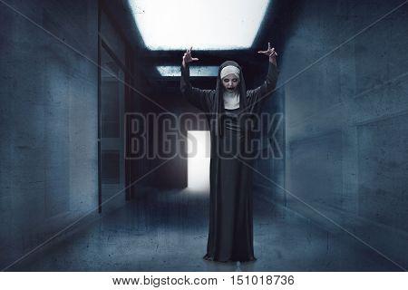 Scary Devil Nun