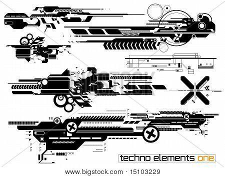 Techno Elemetnts Set One