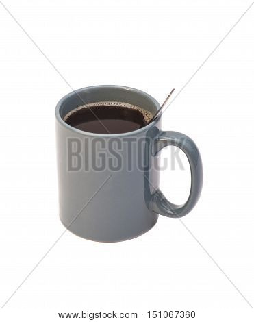 Coffee cup isolated on white background .