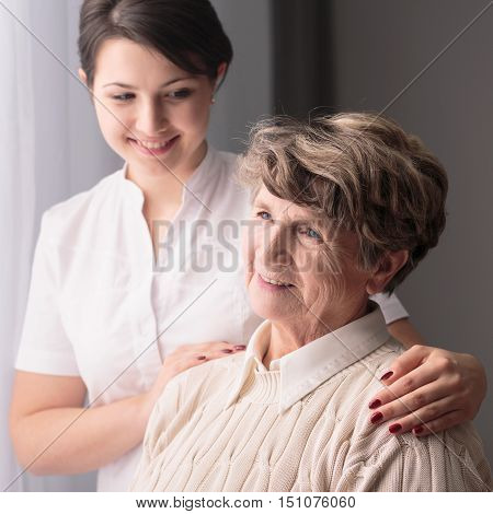Caring Lovely Caregiver