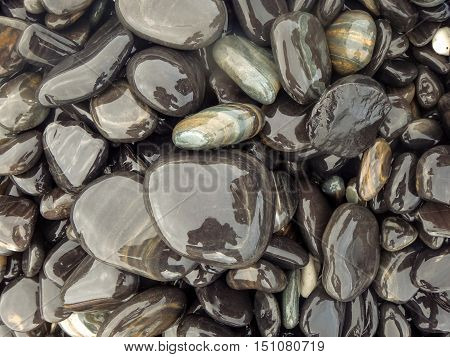blackground with stone colorful black and white wow in nature