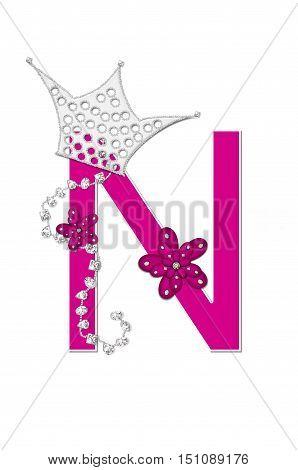 Alphabet Pageant Queen N