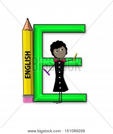 Alphabet Teacher And Class E