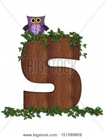 Alphabet Deep Woods Owl S