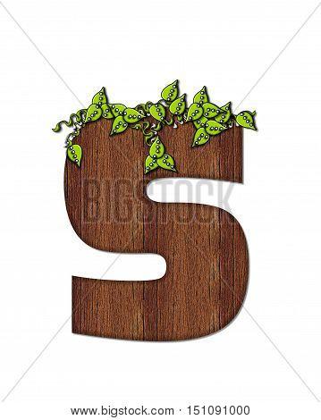 Alphabet Woodsy S