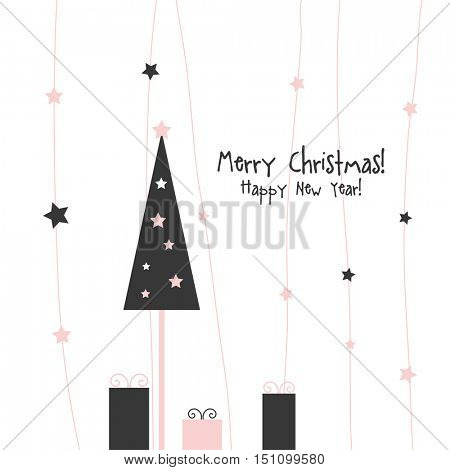New years card  with copy space