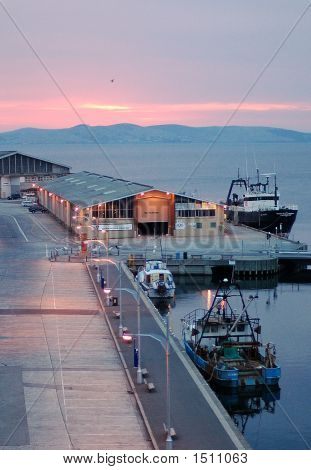 Early Morning Hobart Harbour