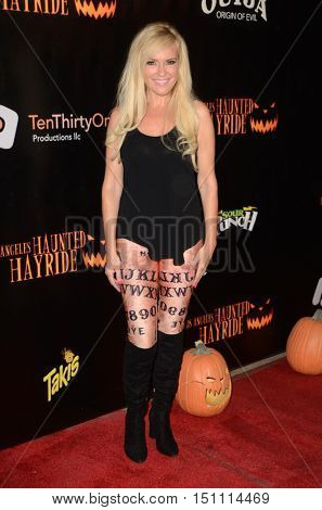 LOS ANGELES - OCT 9:  Bridget Marquardt at the Haunted Hayride 8th Annual VIP Black Carpet Event at the Griffith Park on October 9, 2016 in Los Angeles, CA