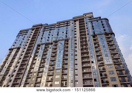 Odessa, Ukraine - August 30, 2016: Luxury modern high-rise residential building in Arcadia