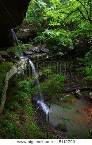 Cascada de altura - Alabama