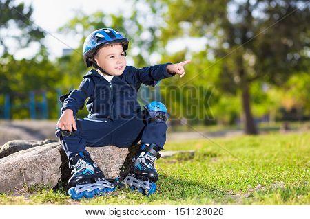 Little Skater Boy