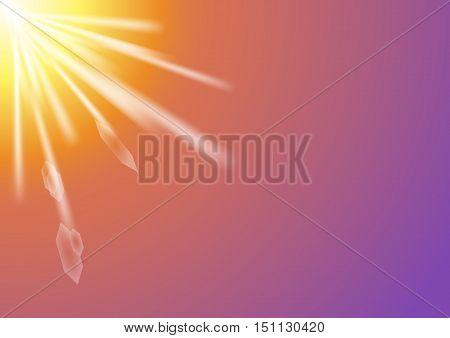 sunrise flare, morning flare, sunlight rays, sky sun burst