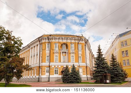 Kremlin Senate is a building within the grounds of the Moscow Kremlin in Russia.