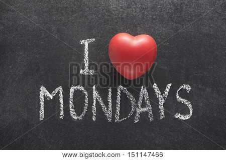 Love Mondays Heart