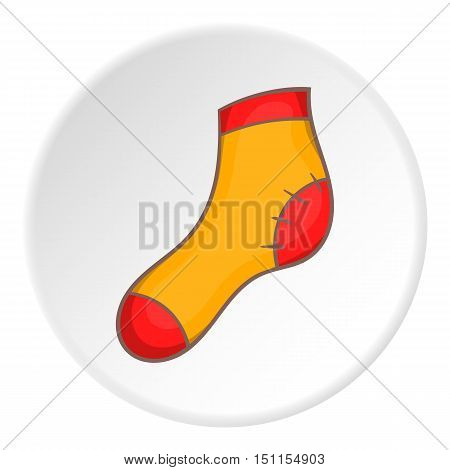Sock icon. cartoon illustration of sock icon vector icon for web