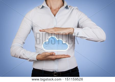 Touching Cloud Computind and Social Network Concept