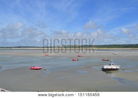 View of the bay in Touquet Paris Plage