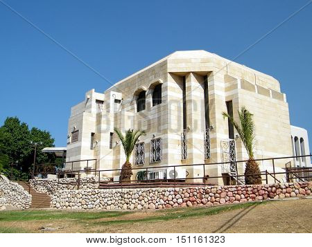 The synagogue building in Ramat Gan Israel October 10 2010