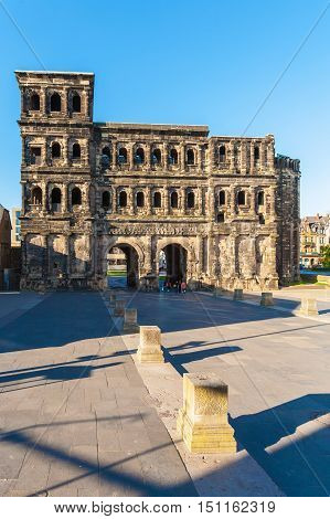 Porta Nigra - Black Gate At Night, Trier