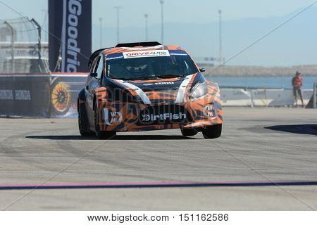 James Rimmer 25, Drives A Grc Lites Car, During The Red Bull Global Rallycross