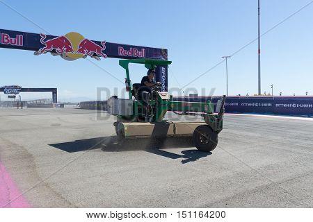 Asphalt Clean Machine, During The Red Bull Global Rallycross
