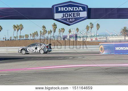 Chris Atkinson 55, Drives A Subaru Wrx Sti Car, During The Red Bull Global