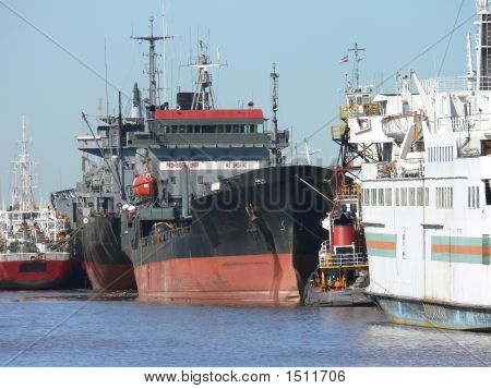 Ships In The Port