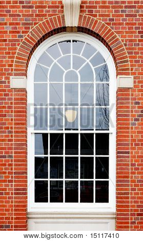 Arched Window Brick Wall