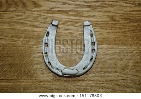 Old Iron Rusty Metal Horseshoe
