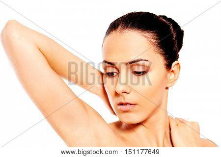 Portrait of beautiful spa woman