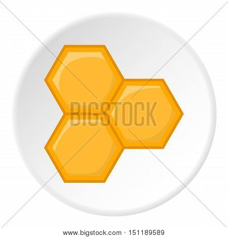 Honeycomb icon. artoon illustration of honeycomb vector icon for web