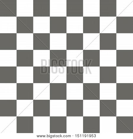 Empty chess board. Seamless pattern. Vector illustration