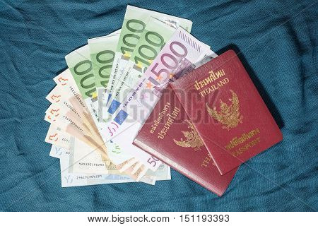 Passport and money - necessary things for traveling abroad