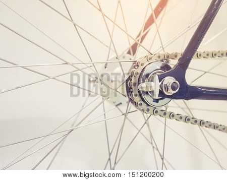 Bicycle Wheel Spoke and Chain Bicycle part details