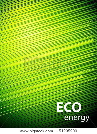 Cover green energy. Abstract eco background cover design template for a business directory, annual report, book cover, brochure. Poster Eco energy.
