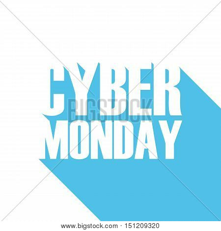 Cyber Monday sale banner for business, promotion and advertising. Vector illustration.