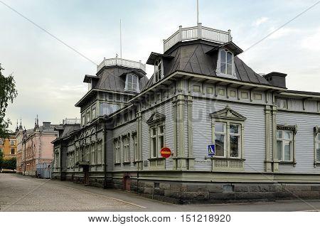 Bystrom House built in 1884 Oulu Finland