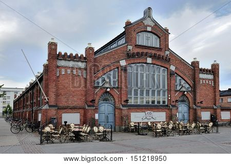 The Market Hall in Oulu city Finland
